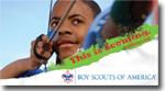boy scout peer to peer cards