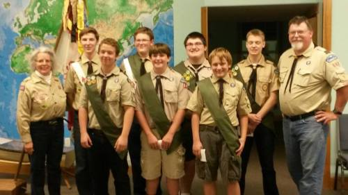 Troop 642 October COH